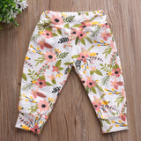 Floral Spring Time Long Pants