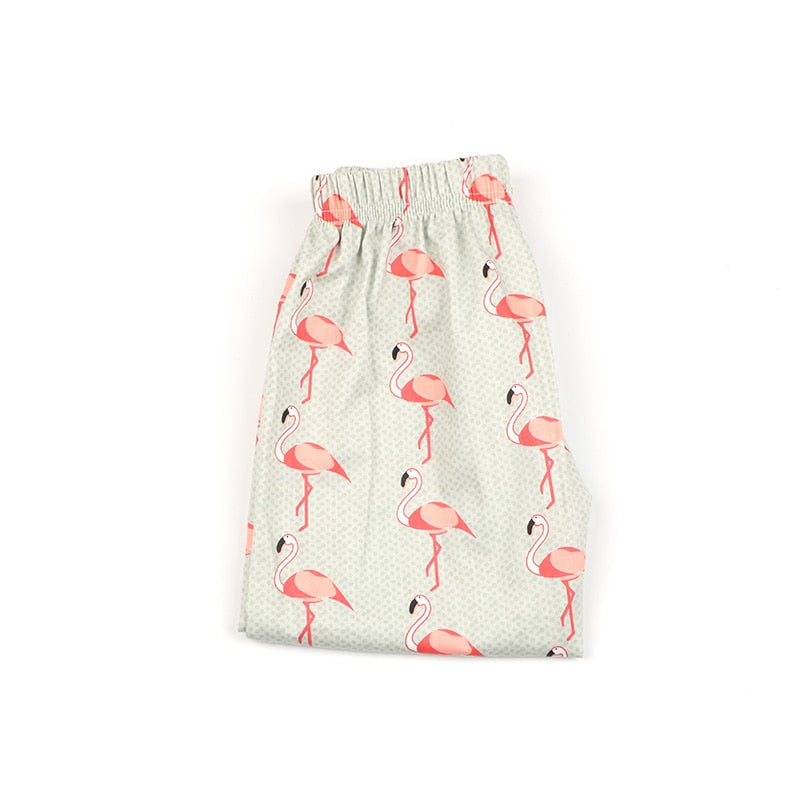 Dainty Tender Flamingo Long Pants