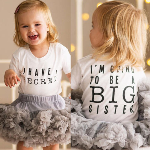 I'm Going To Be A Big Sister Romper