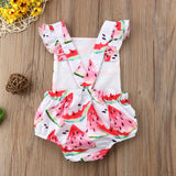 Summer Watermelon Munch Romper - Rompers - baby-petite