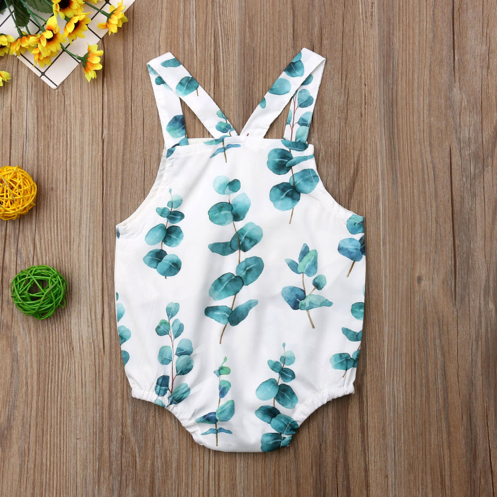 Nature Lover Cross Back Romper - Rompers - baby-petite