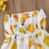 Mad About Bananas Bandeau Romper