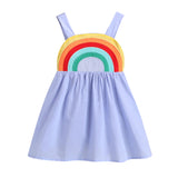 Lilac Rainbow Paradise Dress - Dresses - baby-petite