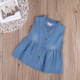 Matilda Denim Button Up Dress