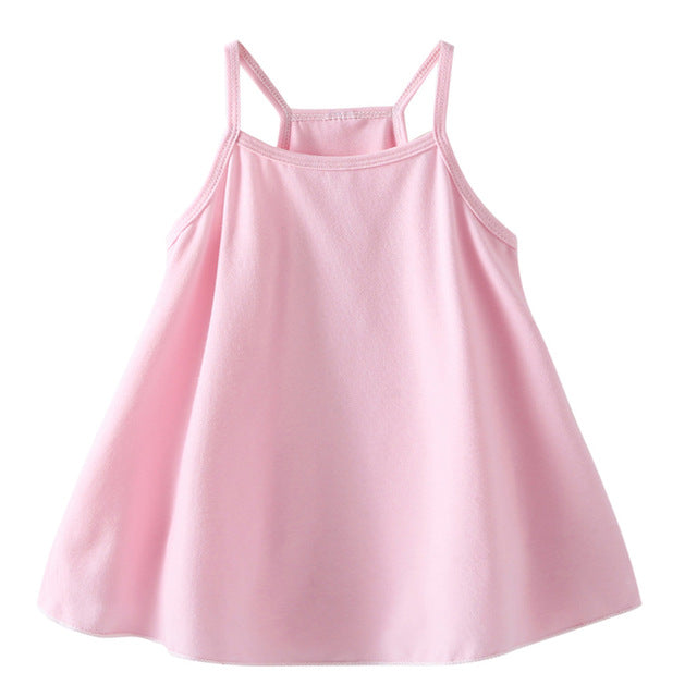 Sweet Baby Pink Swing Dress - Dresses - baby-petite