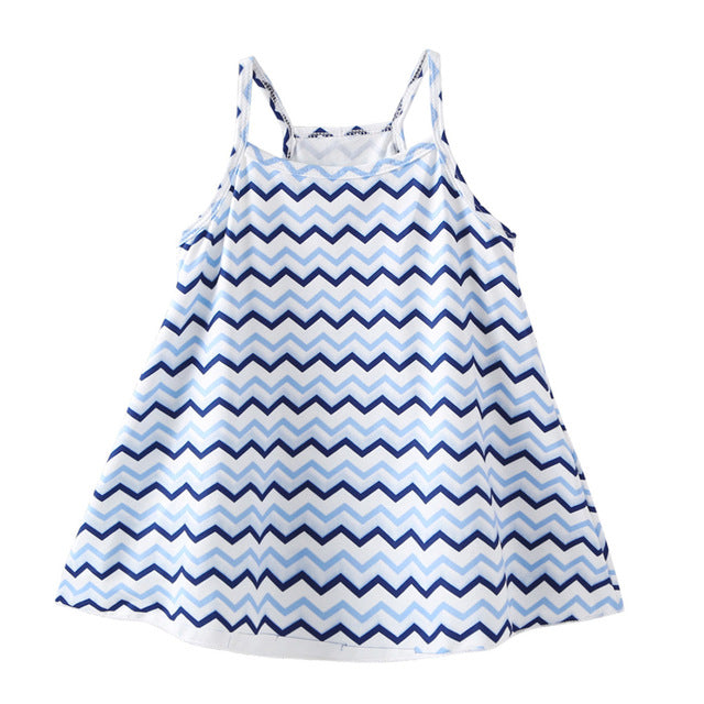 Zena Zig Zag Swing Dress - Dresses - baby-petite