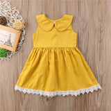 Sunshine All Day Lace Dress - Dresses - baby-petite