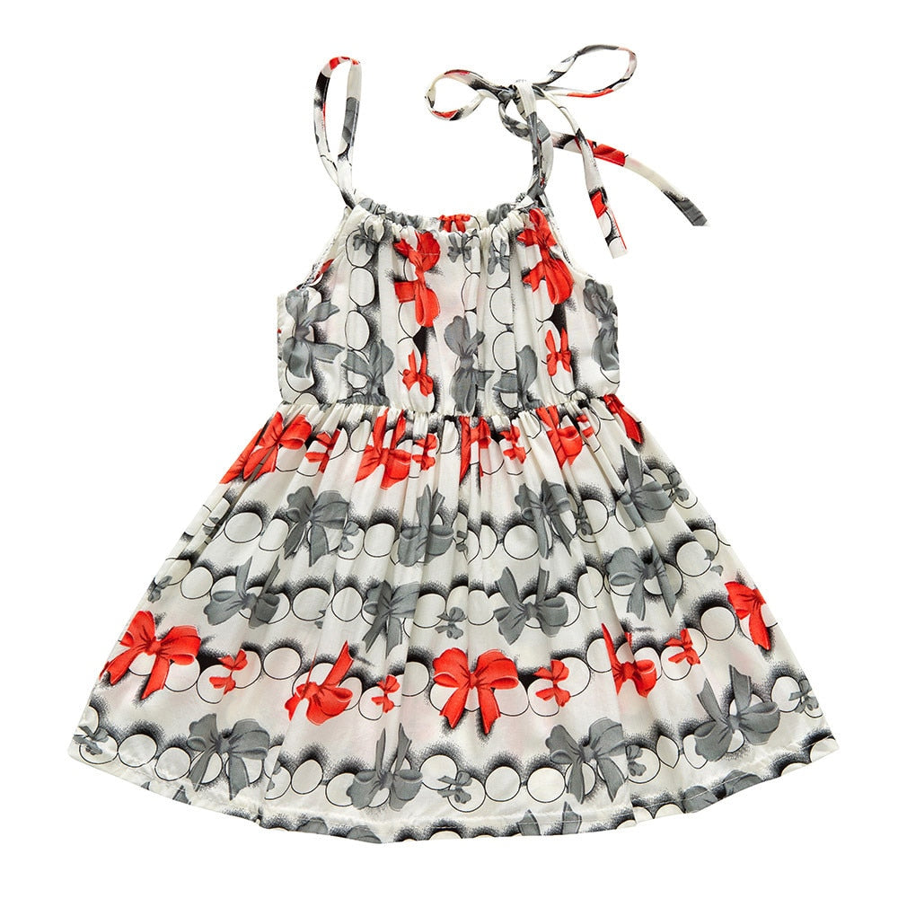 Rachel Bow Knot Sling Dress - Dresses - baby-petite
