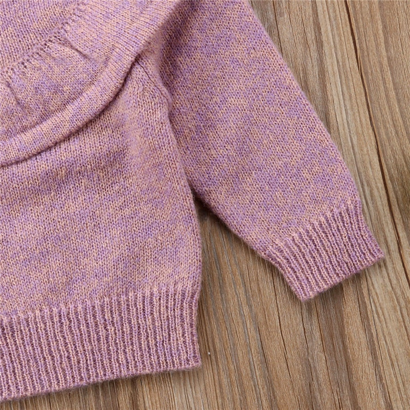 Sugar Plum Ruffle Sweater