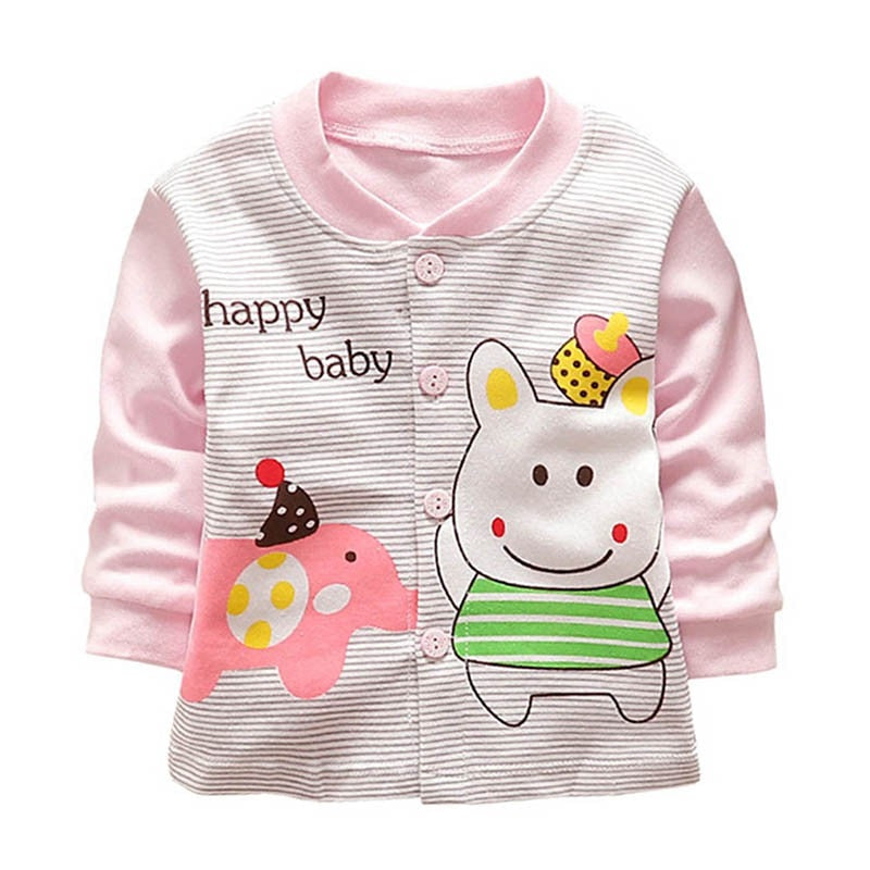 Happy Baby Button Up Jacket - Jackets & Outerwear - baby-petite