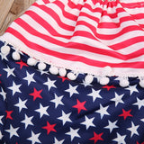 American Star Halter Neck Swimsuit With Matching Cap - Swimsuits - baby-petite