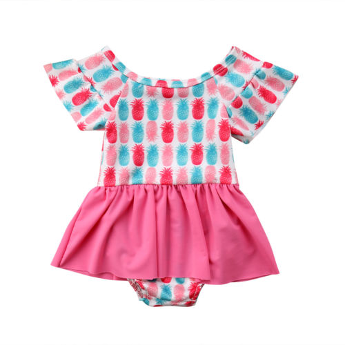 Candy Land Pineapple Swimsuit - Swimsuits - baby-petite