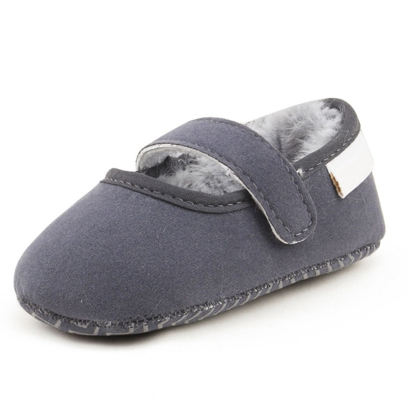 Fuzzy Wuzzy Slip On Winter Shoes