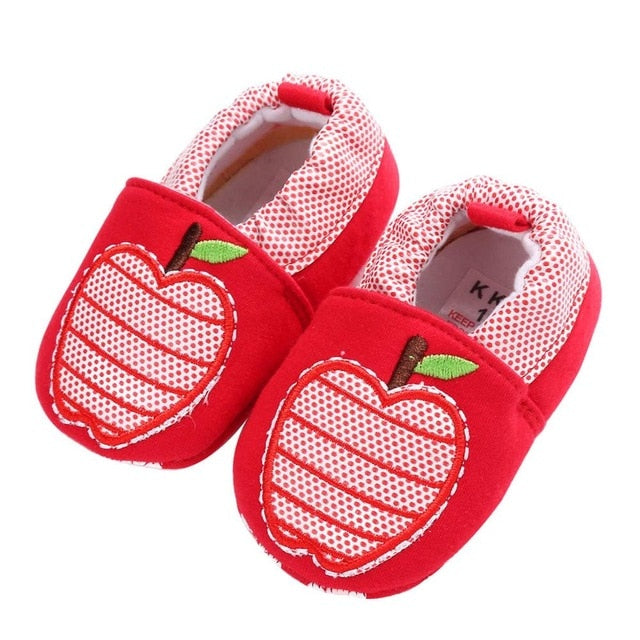 Apple Of My Eye Soft Sole Shoes - Shoes - baby-petite