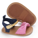 Summer Greece Striped Sandals