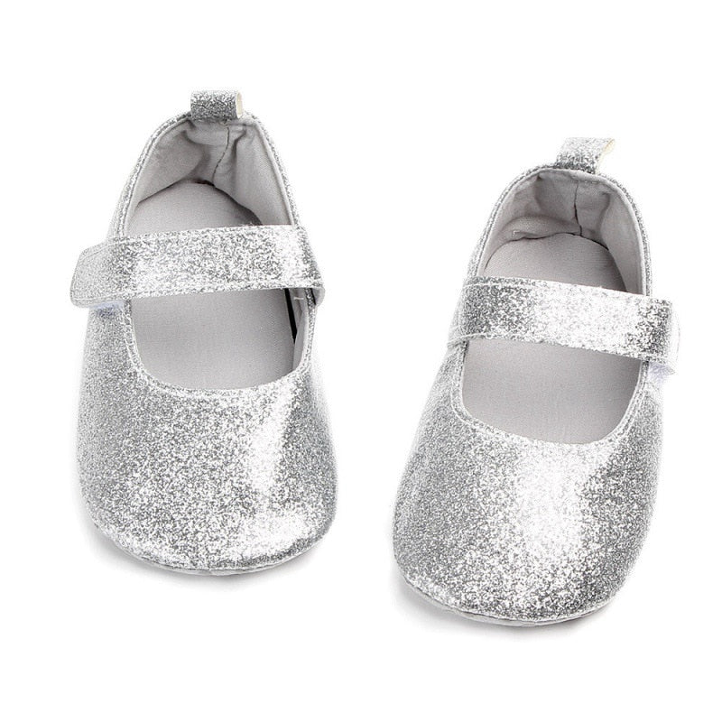 The Glitter Wizard Strap On Shoes