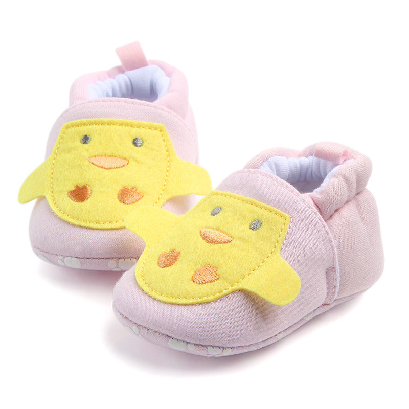Patchy Chick Soft Sole Shoes - Shoes - baby-petite