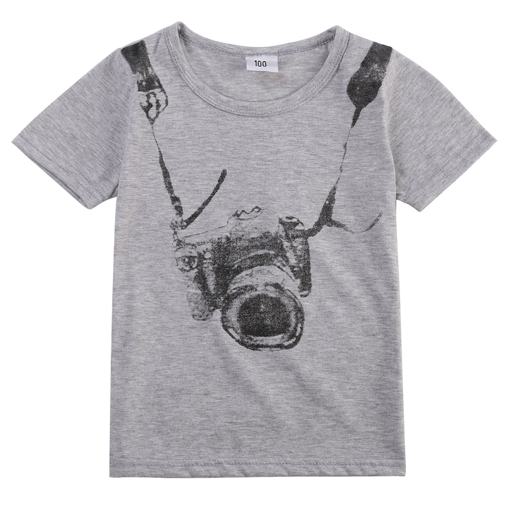 Photographer On The Loose Casual Cotton T-Shirt