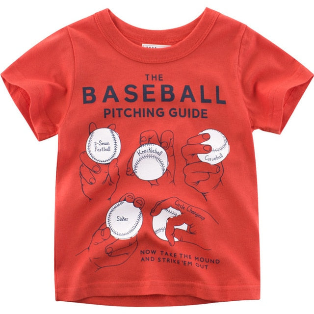 The Baseball Pitching Guide Casual Cotton T-Shirt
