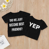Yep Statement Casual Cotton T-Shirt