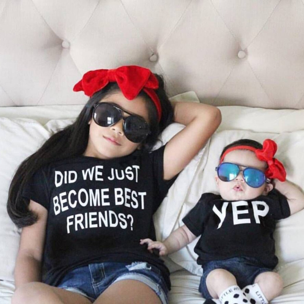 Did We Just Become Best Friends Casual Cotton T-Shirt