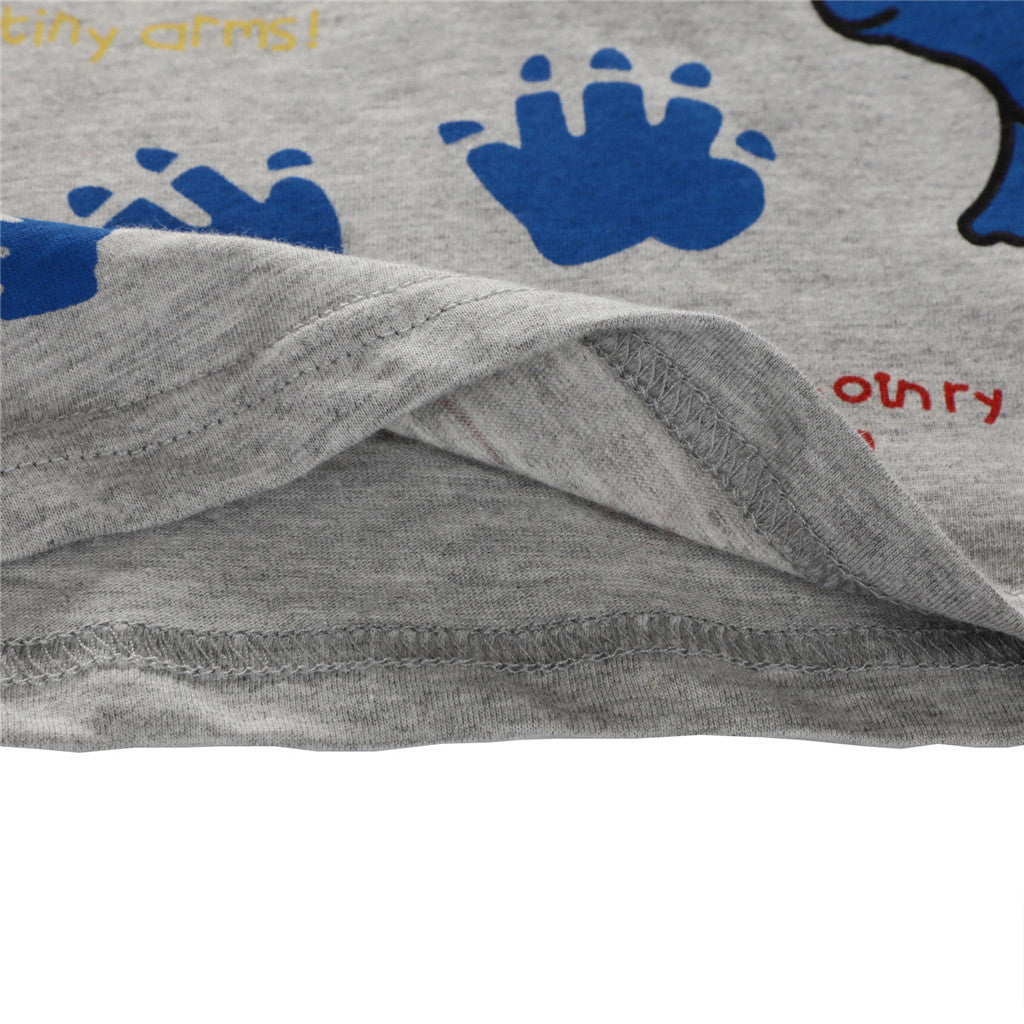 Little Dino Trails Casual Cotton T-Shirt