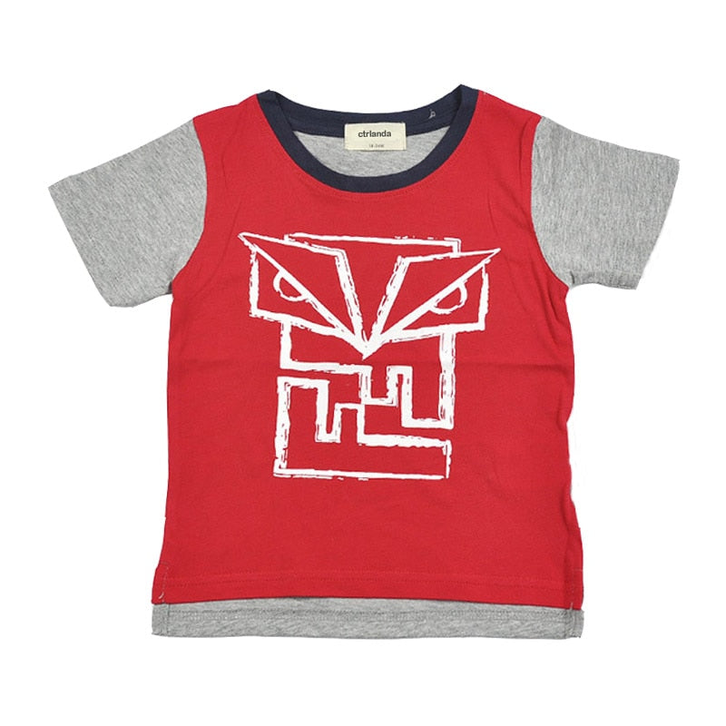 Robot Vibe Casual Cotton T-Shirt