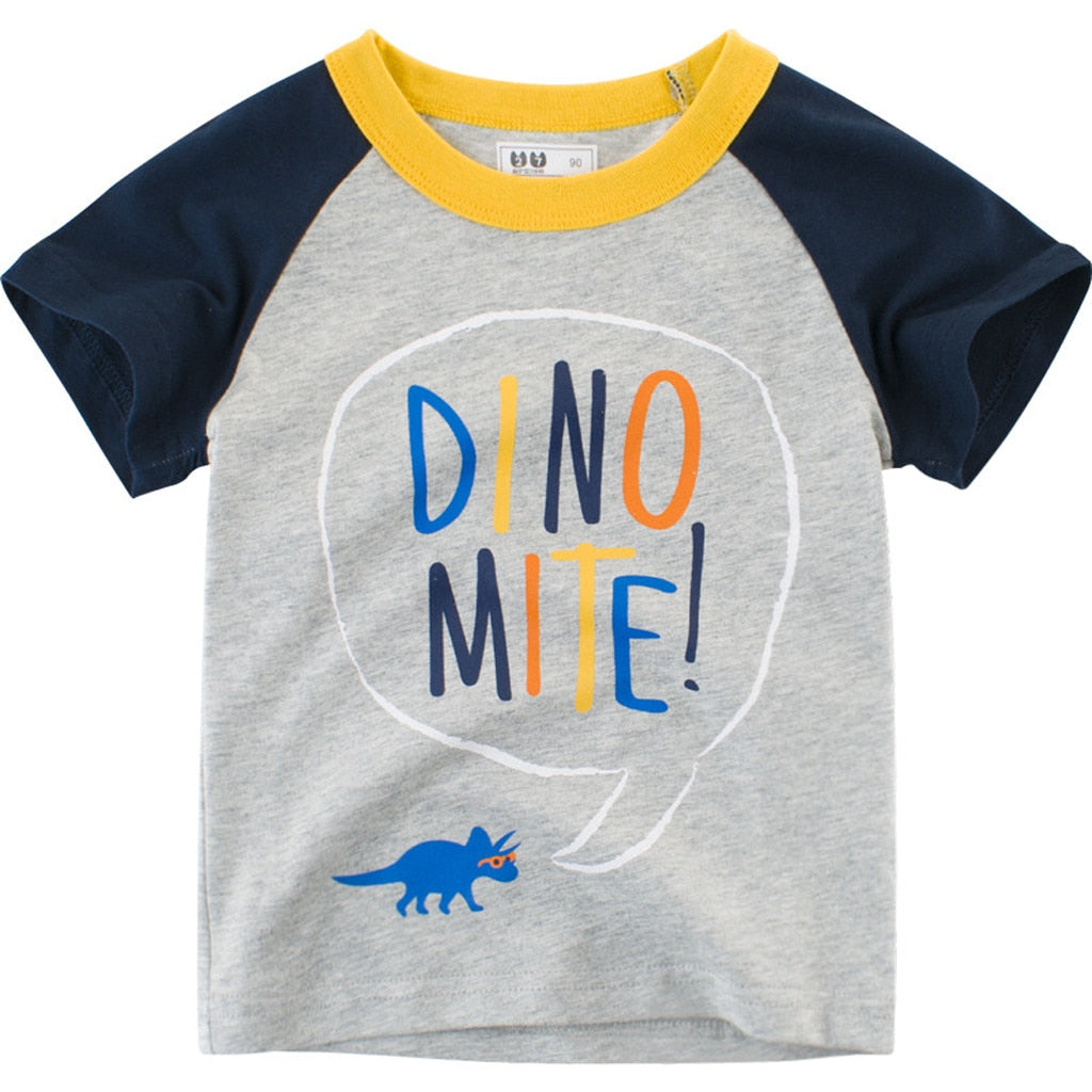 Dino Mite Casual Cotton T-Shirt