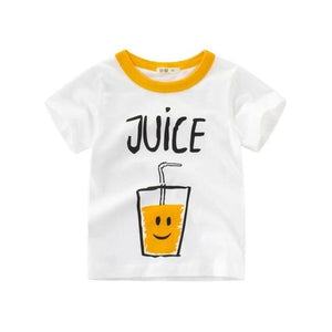 Juicy Orange Casual Cotton T-Shirt