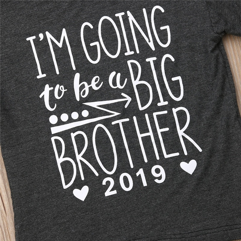 I'm Going To Be A Big Brother Casual Cotton T-Shirt