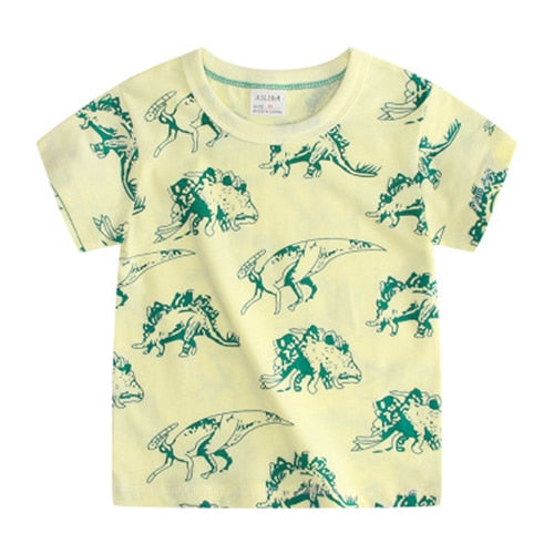 Summer Printed Casual Hot T-Shirt