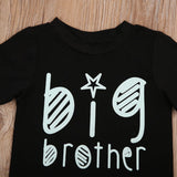 Big Brother Statement Casual Cotton T-Shirt