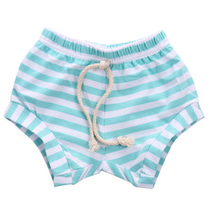 Hot Candy Striped Drawstring Summer Shorts