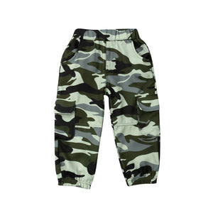 Army Boy Stretchable Camouflage Pants