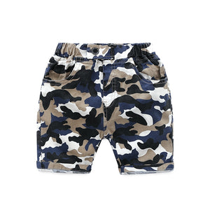 Action Camouflage Drawstring Shorts