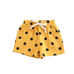Polka Party Drawstring Shorts