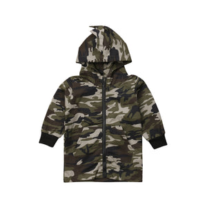 Camo Survivor Baby Zipper Hoodie Jacket