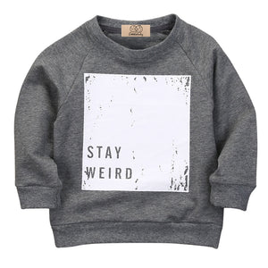 Stay Weird Casual Warm Sweater