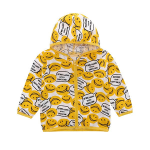 Hello Smiley Hooded Jacket