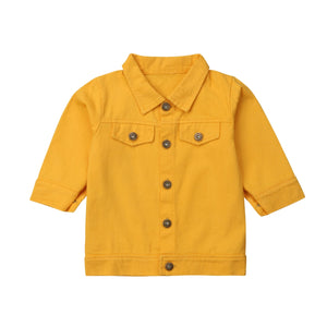 Sammie Sunshine Button Denim Jacket