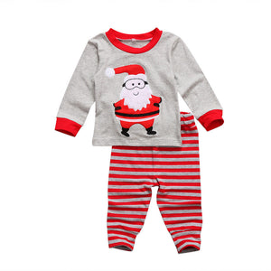 Hello Santa Two Piece Pajamas