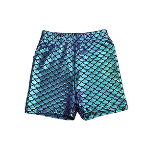 Magic Mermaid Stretchable Shorts