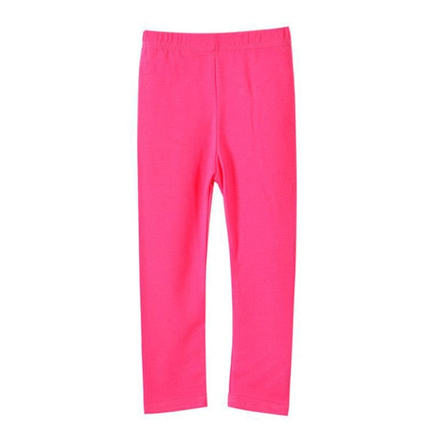 Casual Cotton Candy Basic Warm Leggings