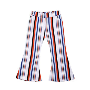 The Dandy Striped Bell Bottom Pants