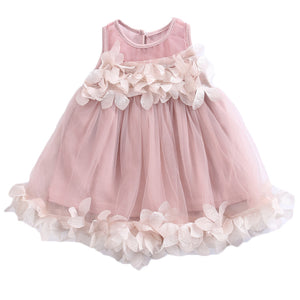 Elegant Petal Tulle Dress