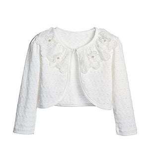 Sweet Lace Flower Long Sleeve Cardigan