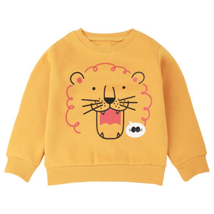 The Curly Lion Warm Sweater