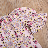 Pink Bohemian Tapestry Dress - Dresses - baby-petite