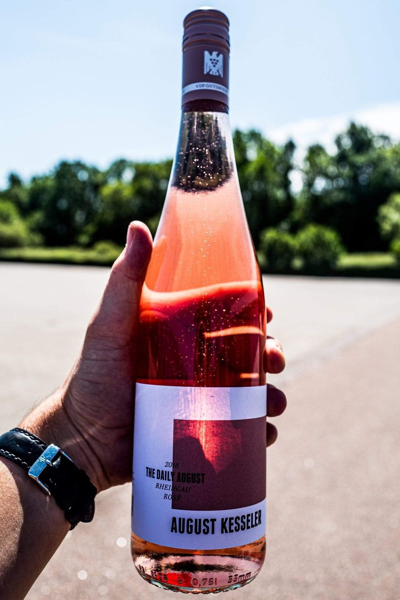 August Kesseler 2018 The Daily August Rosé Rheingau