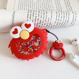 Cookie Monster/Elmo Case for Apple Airpods Charging Case - Hot Buy Trend